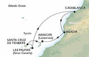 Croaziera Maroc si Insulele Canare