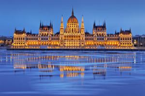 Vedere panoramica Budapesta