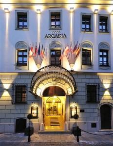 Arcadia Hotel Bratislava 5 stele Revelion 2015